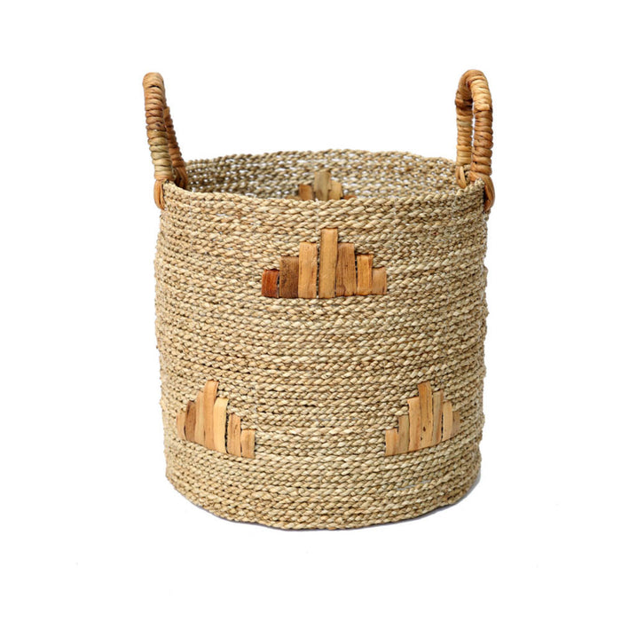 The Twiggy Graphic Basket - Medium