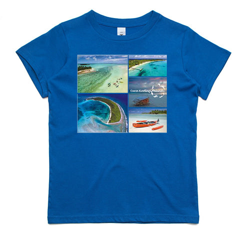 Kids Cocos Islands T-Shirt