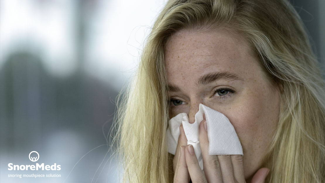 Nasal congestion is a cause of snoring
