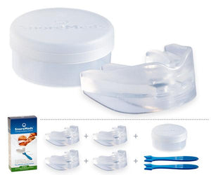 Men Value Pack - SnoreMeds Anti Snoring Mouthpiece - SnoreMeds Anti Snoring Mouthpiece for Men and Women