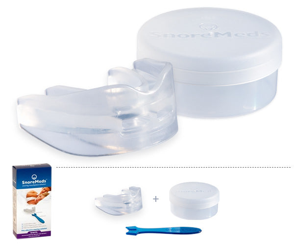 Woman Single Pack - SnoreMeds Anti Snoring Mouthpiece - SnoreMeds Anti Snoring Mouthpiece for Men and Women