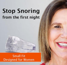 Load image into Gallery viewer, Woman Single Pack - SnoreMeds Anti Snoring Mouthpiece - SnoreMeds Anti Snoring Mouthpiece for Men and Women