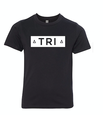 Black T-Shirt With TRI