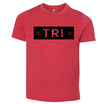 Red T-Shirt with TRI