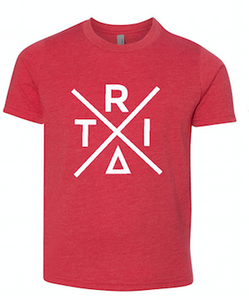 Red T-Shirt With X