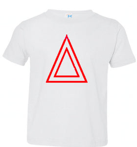 White T shirt With Red 🔺