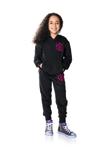 Sweat Suit TRI X Pink Logo