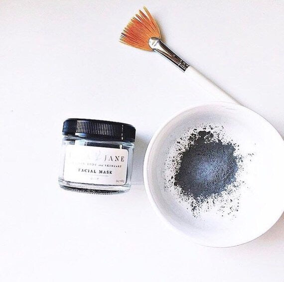 All Natural Charcoal Face Mask