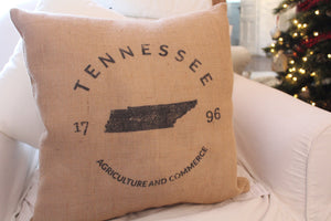 Tennessee State pillow