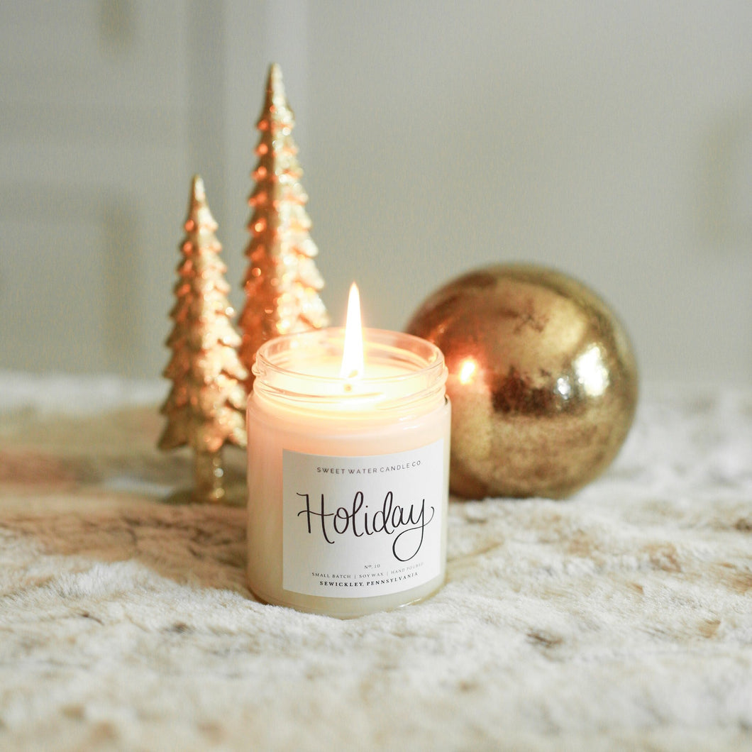 9oz Holiday candle