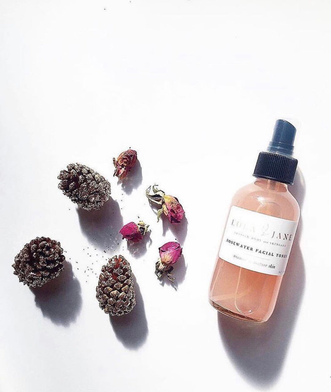 All Natural Rosewater Facial Toner