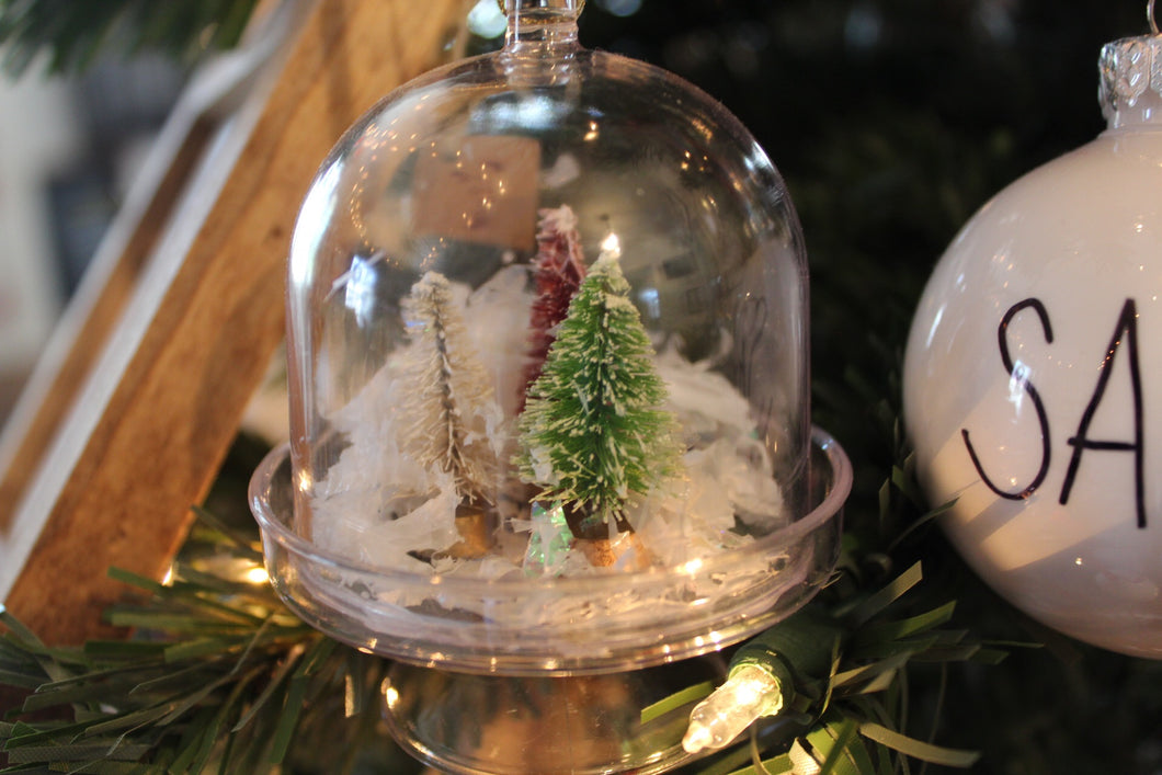 Tree Globe Ornament
