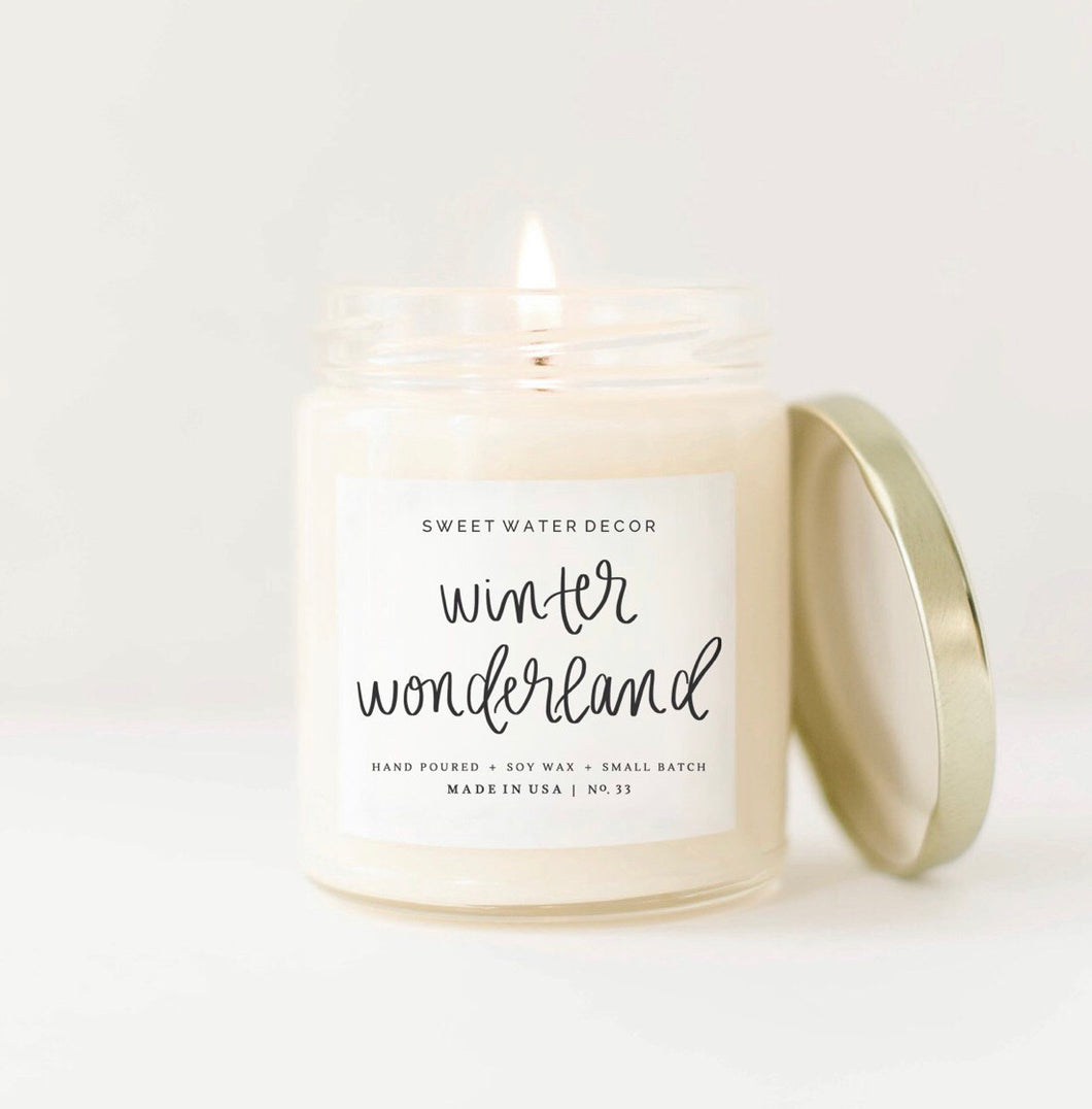 9oz Winter Wonderland candle