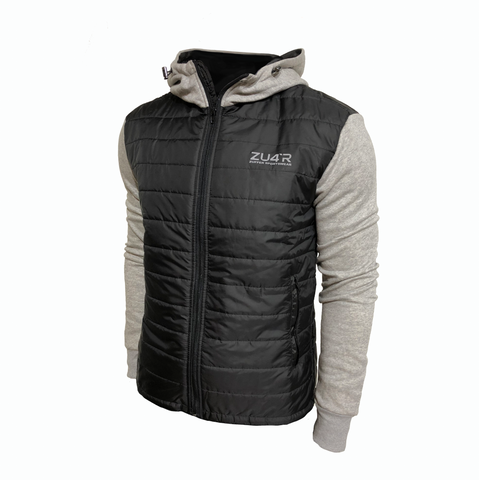 Light Jacket Man Black & Gray