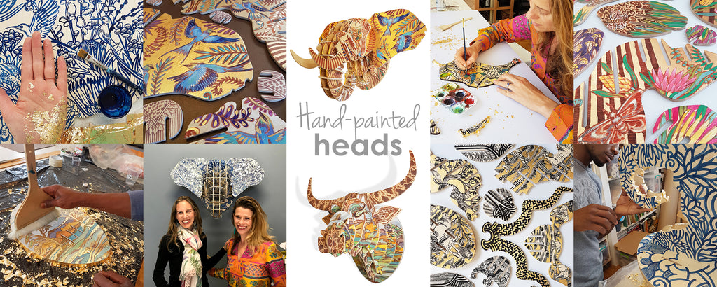 Painted Heads - View Full Gallery