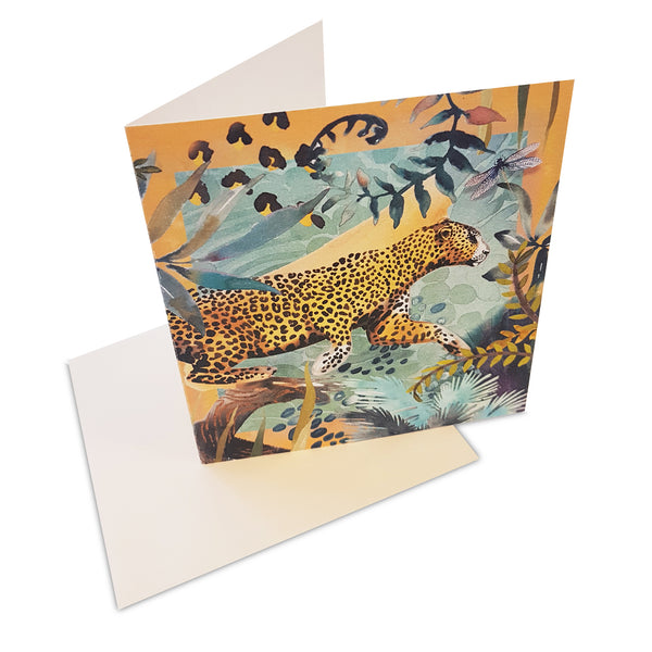Cape Leopard Greeting Card