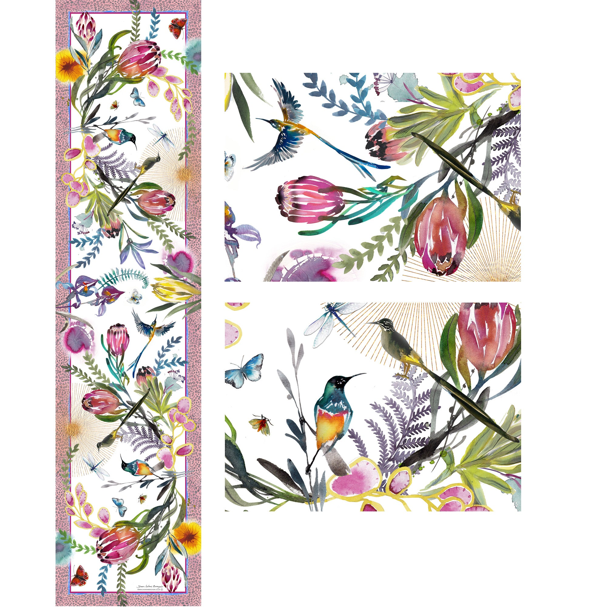 Colour Fynbos Table Runner
