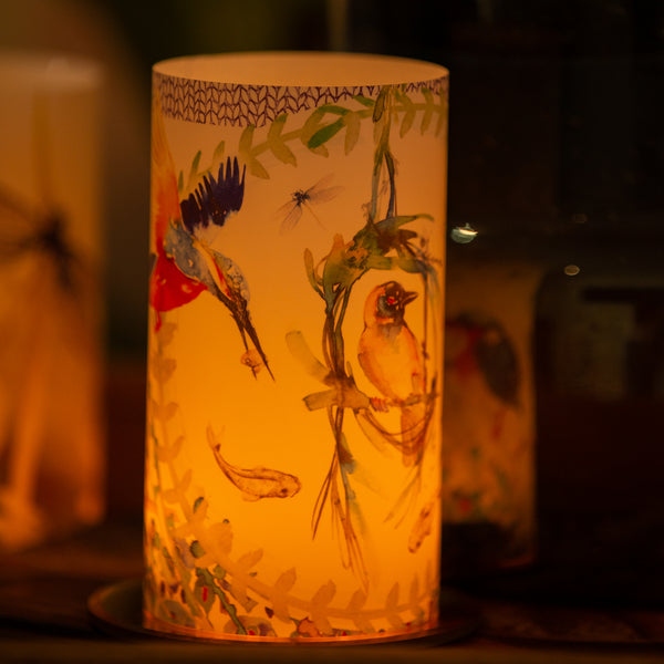 Kingfisher Candle Shades
