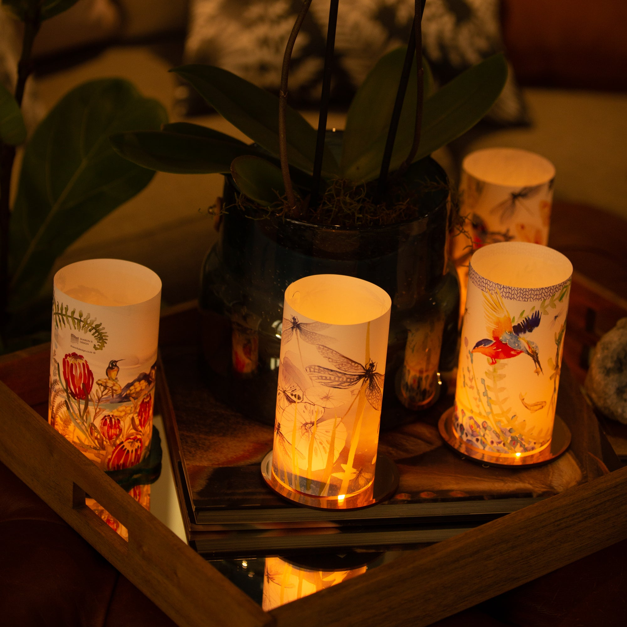Table Mountain Candle Shade