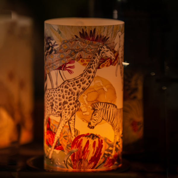 Tribal Candle Shade