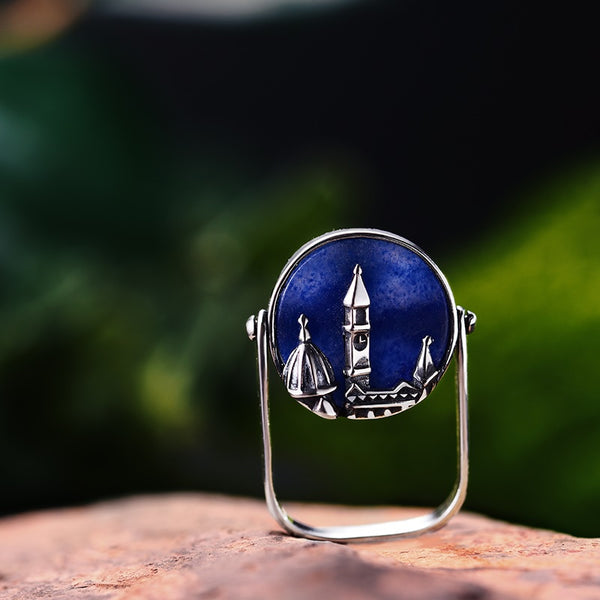 Sterling Silver Florence Cathedral Ring - flipkarto