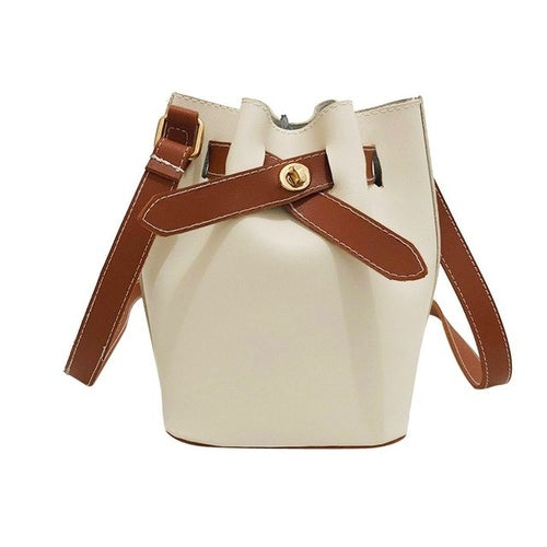 Vintage Women handbag pu Leather Pure Color - flipkarto