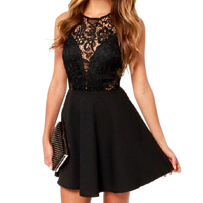 Sexy Lace Mini Dress