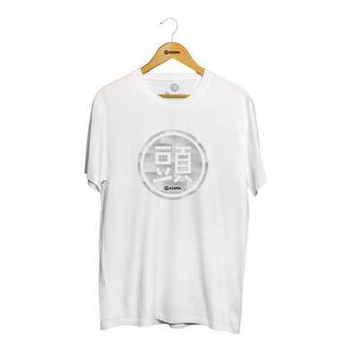 Stitches Logo Tee - White