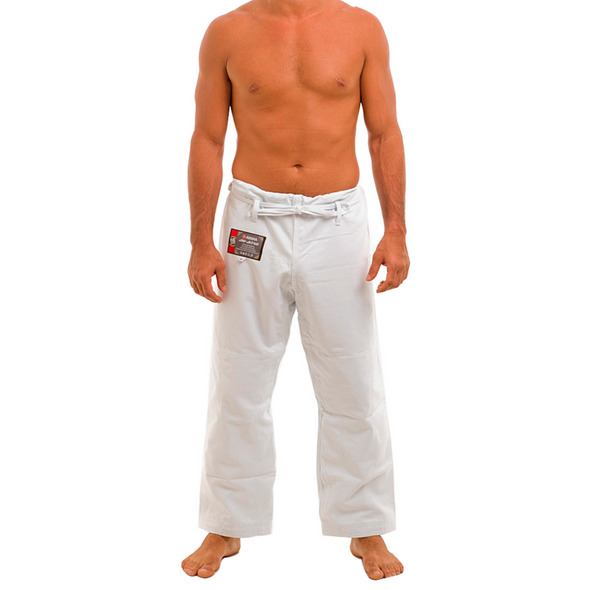 Traditional Pants - White