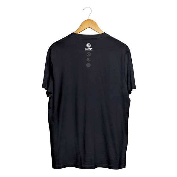 Stitches Logo Tee - Black