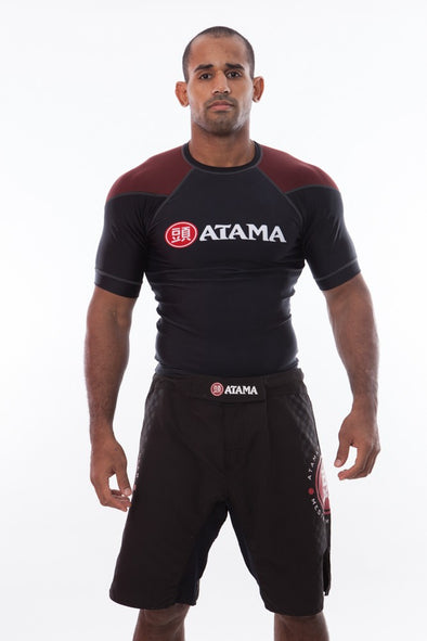 Ranked Rash Guard - Brown