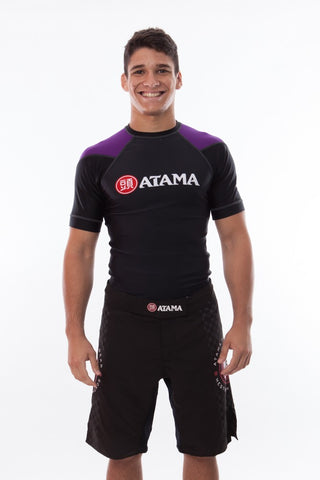 Ranked Rash Guard - Purple
