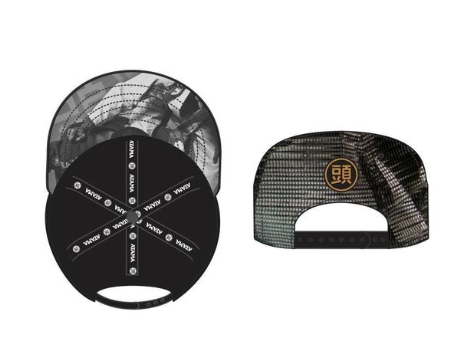 Atama Trucker - Black/ White