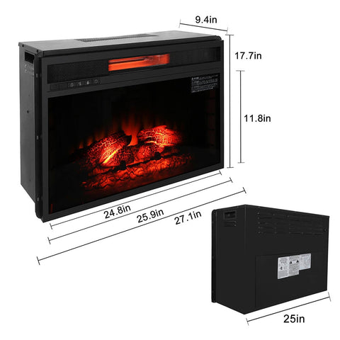 Image of Electric Fireplace Vivid Flame