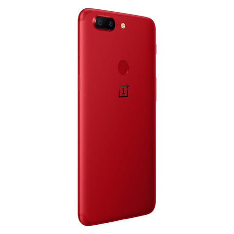 Image of OnePlus 5T 4G Phablet 6.01 inch Android 7.1 Snapdragon 835 Octa Core 2.45GHz 8GB RAM 128GB ROM 16.0MP + 20.0MP Dual Rear Cameras Full Optic AMOLED Screen Fingerprint Scanner