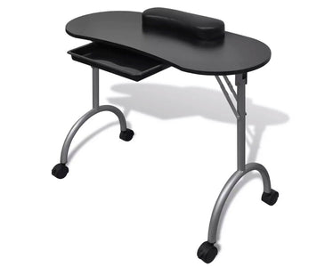 Folding Table with Wheels