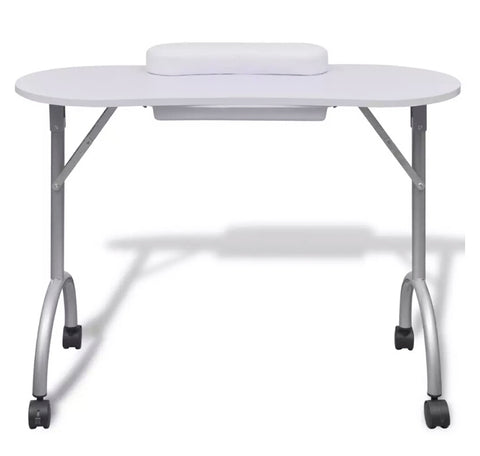 Image of Folding Table with Wheels