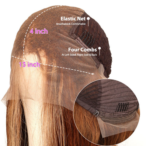 Image of Straight Lace Front Human Hair Wig