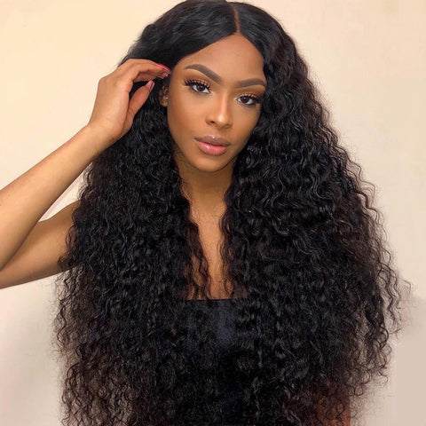 Image of Remy Water Wave Lace Front Wig | 4x4 13x4 & 360 Deep Waves