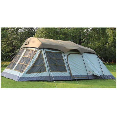 8-12 Person double layer outdoor family camping tent