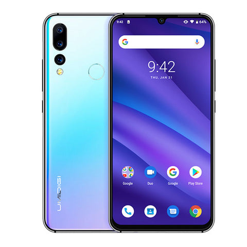 Image of Android 9.0 Octa Core 6.3' FHD+ Waterdrop 16MP Triple Camera