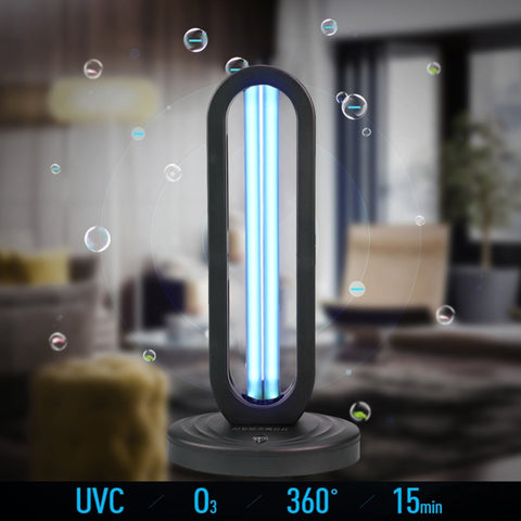 38W UVC  Light Germicidal Disinfection Air Sanitizer | Ozone builder