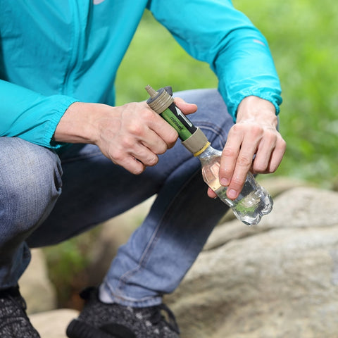 Image of Camping Emergency Water purification straw