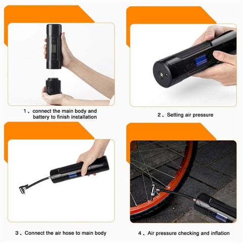 Rechargeable Tire Air Pump