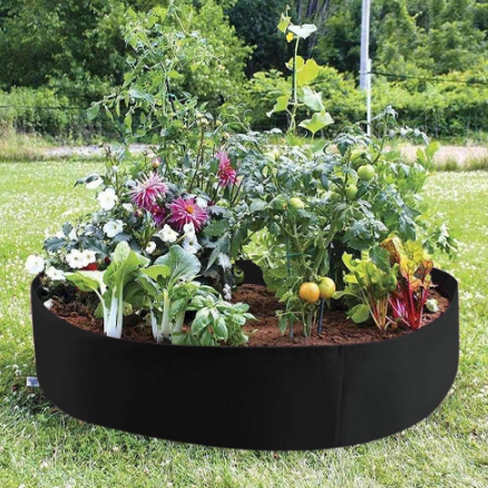 Round Raised Plant Bed Garden