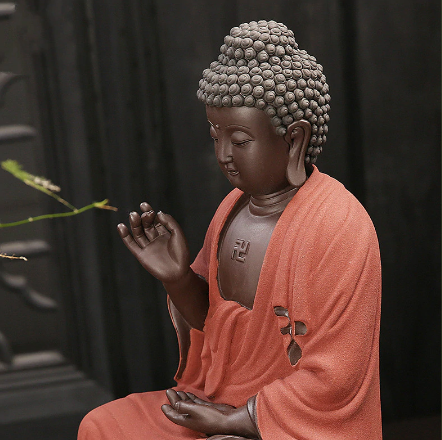 Image of Meditating Buddha Statue