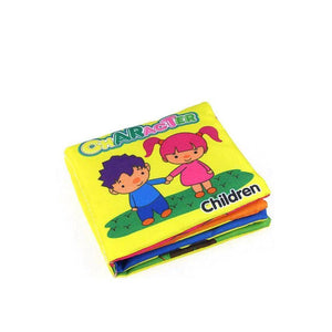 Soft Cloth Rustle Sound Educational Baby Books
