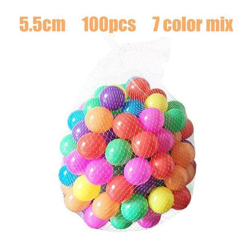 Image of Baby Playpens Balls - Candy Bits Soft Playpen Air Toy Balls | 100pcs Set