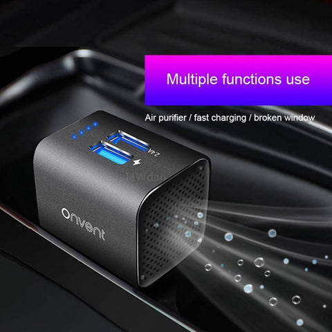 Car Air Purifiers - Car Air Purifier With Ionizer Function