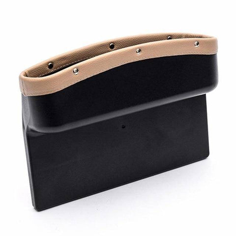 Image of Car Gap Stowing Pocket - Universal Car Seat Crevice Storage Box | Car Organizer | Auto Gap Side Pocket For Stowing